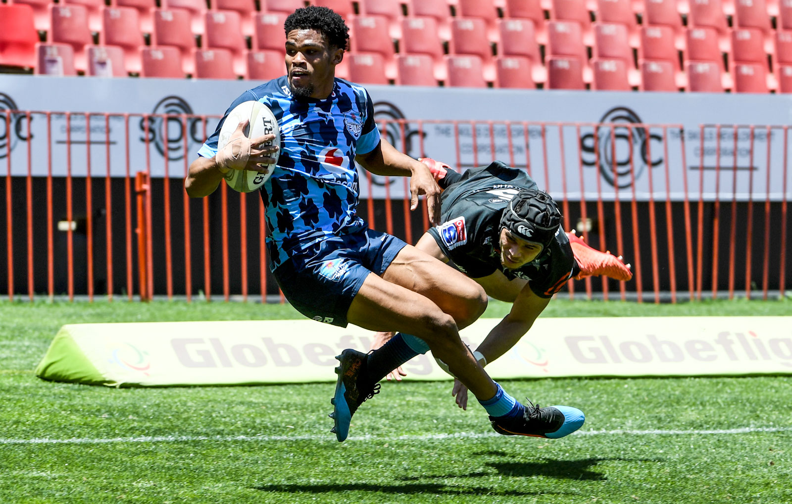 Mammoth effort by Vodacom Blue Bulls U21 against the Cell C Sharks U21 secures spot in final