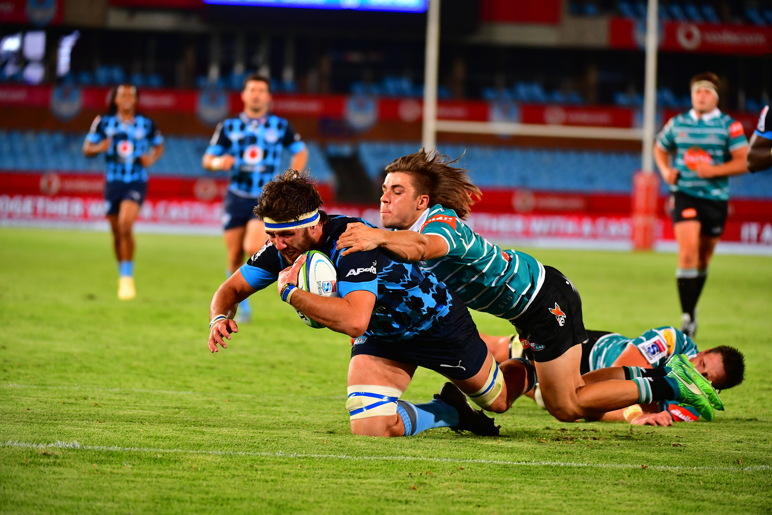 Vodacom Bulls dig deep to beat determined Tafel Lager Griquas