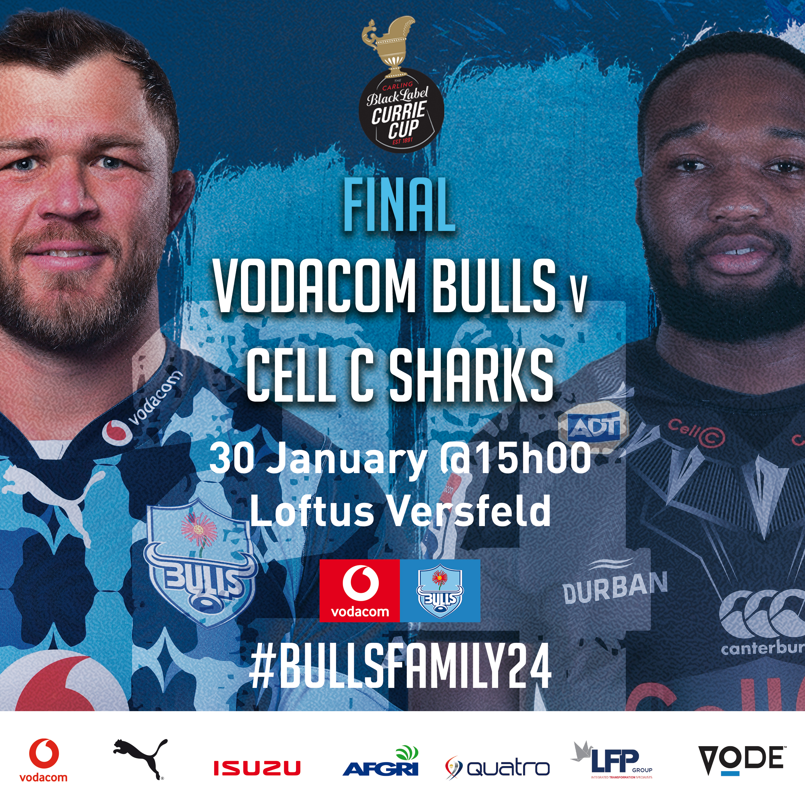 Carling Currie Cup final match preview – Vodacom Bulls v Cell C Sharks