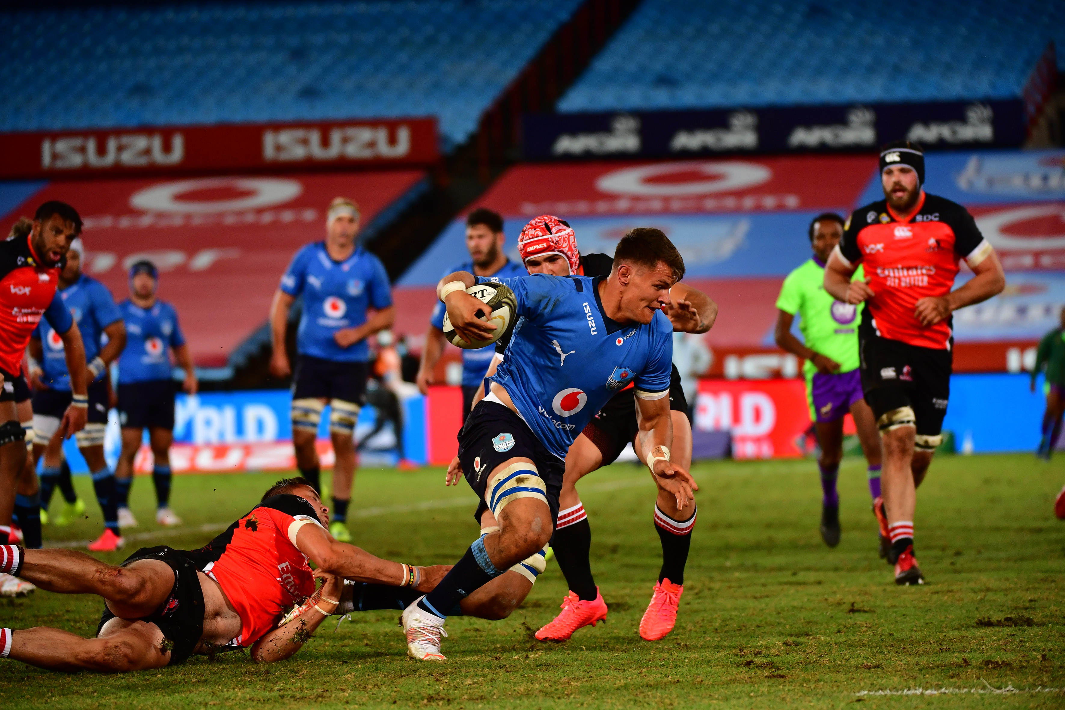 Strong Vodacom Bulls Side To Take On Sigma Lions